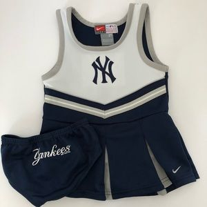 Nike Dresses - Nike NY Yankees Toddler Girl Cheerleader Dress